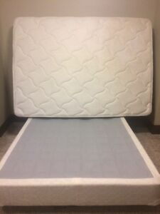 Mattress and box spring - double