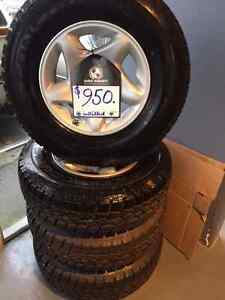 "245/75x16"" all-terrain 6 bolt truck concours tires"