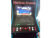 Full sized Dual Screen Arcade Cabinet