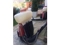 Professional petrol sprayers ,many uses