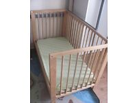 IKEA Gulliver Cot Bed with Mattress