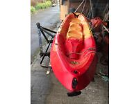 Robson Kailua sit on top Kayak very good condition 2 seats and paddles