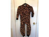 kids boys tiger pattern onezee age 6-7 years