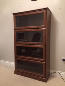 Glass Door Shelf Unit