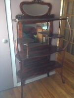 ANTIQUE DISPLAY STAND FOR SALE