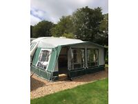 Inica Sands Awning 530 size T Talla 875 like new see attached photo of this awning 250