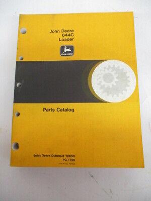 John Deere Parts Catalog For 644c Loader Pc1790