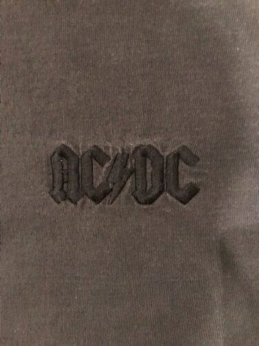 """AC/DC """"Ballbreaker"""" Long Sleeve Embroidered Promotional T-Shirt--XL--RARE"""