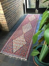 Offers! Persian Senneh Kilim carpet runner 3 meters long 0.8 meters wide. good condition