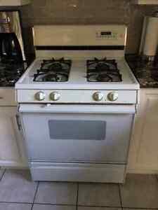 Older model gas stove