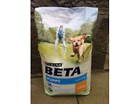 Purina Beta Dry Puppy Food with Chicken - 14kg bag