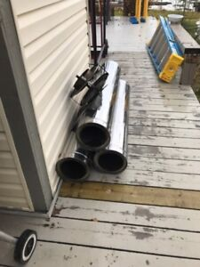 Insulated, double wall chimney Pipe