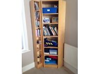 IKEA Corner Bookcase and DVD shelves. Excellent condition