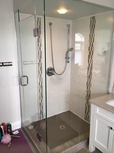Shower Glass/Vitre de douche