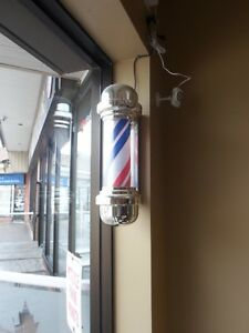barber pole / stations / styling chairs / salon furniture
