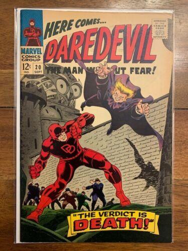 Daredevil 20 Silver Age Comic Book High Grade Daredevil Owl