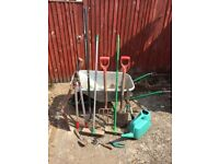 Job Lot of Garden Tools for Sale - 13 Items