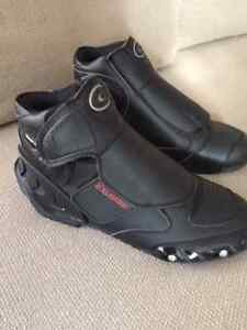 Motorcycle Riding Boots Sport Styled Ankle Height by Exustar NEW