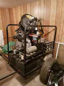 Diesel-Diesel Hot water pressure washer Stratford Kitchener Area image 1