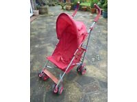Lightweight Stroller / Buggy with Raincover