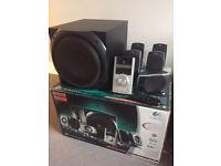 Logitech Z-5500 Digital 5.1 Surround Speakers, 505W, THX Certified, Dolby & DTS Digital
