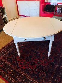 Lovely cream cottage kitchen table