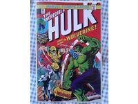 Incredible Hulk 181 reprint. 1st full app of Wolverine