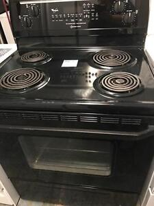Black Stove Electric Excellent Condition with Warranty