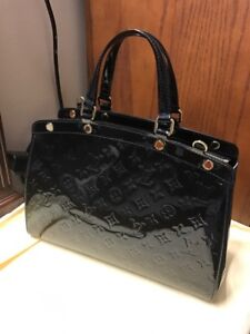 Authentic Louis Vuitton Brea MM in Noir
