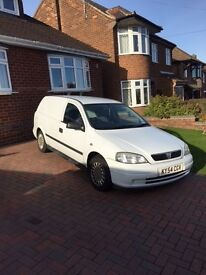2004 Vauxhall Astra Van.....Only 81000 miles