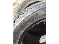 4 x 205/55 R16 cold weather tyres