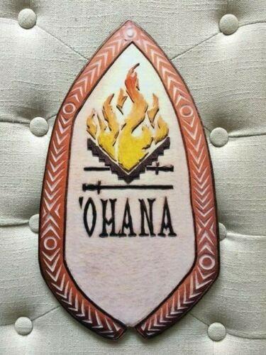 'OHANA RESTAURANT DISNEY POLYNESIAN VILLAGE RESORT NOSTALGIC WOODEN SIGN