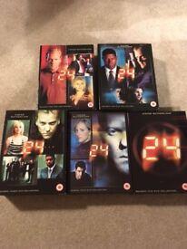 24 DVD Box sets