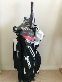 Srixon Deluxe Cart Bag, Cleveland Putter and extras