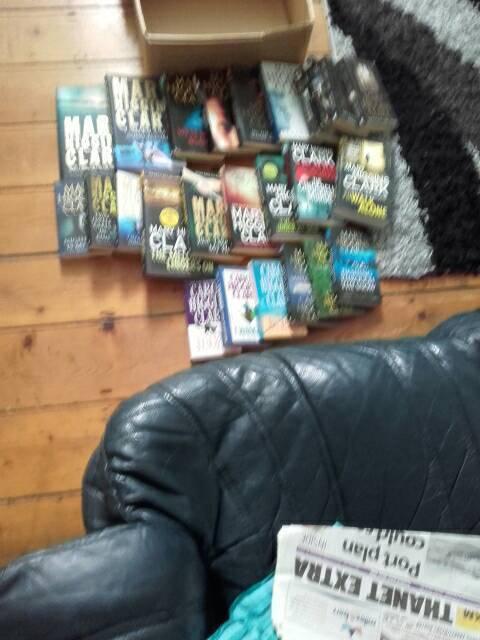 Mary higgens clark books