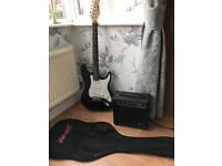 Electric guitar and Amp-excellent condition