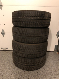 "Set of four 18"" Michelin X ICE 3 winter tires- $325- negotiable"