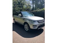 RANGE ROVER SPORT 2014 3.0 SDV6 HSE DIESEL INDUS SILVER LOW MILEAGE FSH IMMACULATE CONDITION