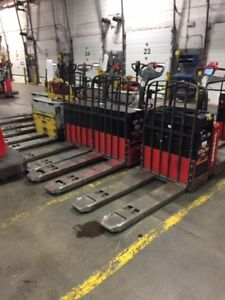 Fork lift and palle jack liquidation 10 days only