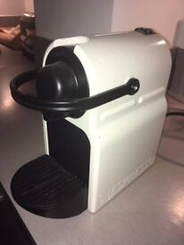 Nespresso Coffee Machine barely used, 2 years old, Cream & Black colour