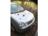 2004 Vw POLO BREAKING FOR SPARES ONLY CHEAP PRICES