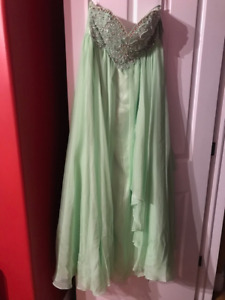 Mint Colour Size M Prom Dress