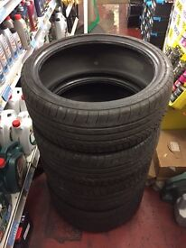 Continental Sport Contact M3 Tyres full set, 225/40/19 and 255/35/19