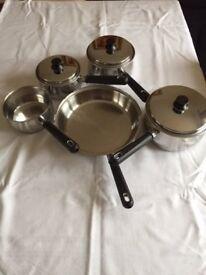 Stainless Steel Prestige Pans