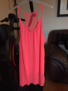 Dresses for sale (1 LG-wine colour/2 XLG (1 pink & 1 red)