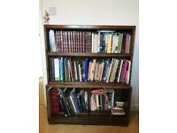 Bookcase. Old barrister /waterfall type bookcase