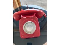 Vintage 1970's Rotary Dial Telephone