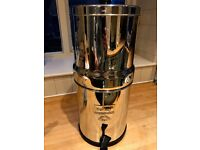Big Berkey Water Filter - COST £269 sell for £165 - NEVER USED