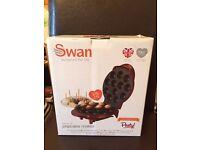 Swan Popcake Maker **BOXED. UNUSED **