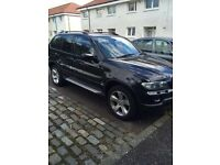 Bmw x5 diesel sport low mileage swap/px sports bike